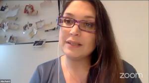Alba Padró en la I Jornada LactApp Medical