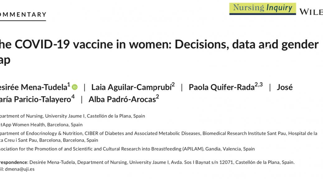 lactancia y vacuna covid-19